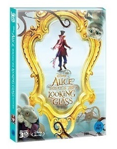 BLU-RAY / ALICE THROUGH THE LOOKING GLASS 2D+3D STEELBOOK LE (NON NOVA CHOICE)