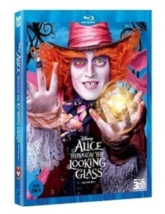 BLU-RAY / ALICE THROUGH THE LOOKING GLASS (3D)