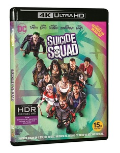 BLU-RAY / SUICIDE SQUAD 4K (BD EXTENDED VER. + THEATRICAL VER.)