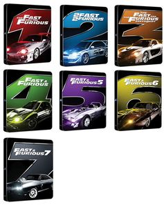 BLU-RAY / FAST & FURIOUS Vol.1-7 STEELBOOK SET LE