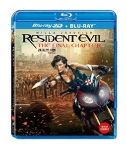 BLU-RAY / RESIDENT EVIL : THE FINAL CHAPTER