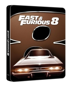 BLU-RAY / FAST AND FURIOUS 8 LINE LOOK STEELBOOK LE