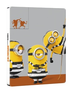 BLU-RAY / DESPICABLE ME 3 STEELBOOK LE (2D+3D)