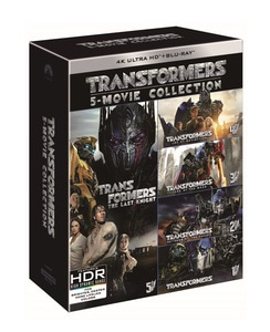 BLU-RAY / TRANSFORMERS 5 MOVIE 2D+4K UHD COLLECTION LE (10 DISC)