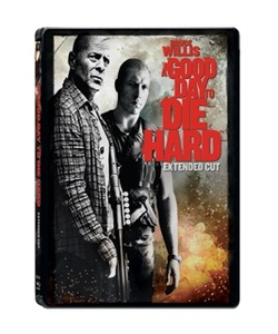 BLU-RAY / A GOOD DAY TO DIE HARD STEELBOOK