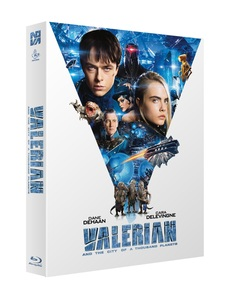 BLU-RAY / VALERIAN AND THE CITY OF A THOUSAND PLANETS FULL SLIP LE (500 NUMBERED)