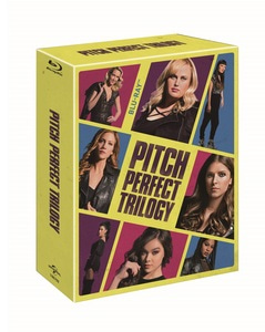 BLU-RAY / PITCH PERFECT 1, 2, 3 TRILOGY BOX SET