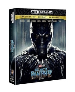 BLU-RAY / BLACK PANTHER 4K STEELBOOK LE (2D+3D+4K UHD)