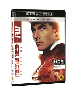 BLU-RAY / MISSION IMPOSSIBLE 1 4K LE (BD+4K UHD)