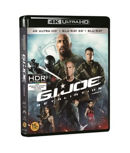 BLU-RAY / G.I.JOE : RETALIATION 4K LE (2D+3D+4K UHD)