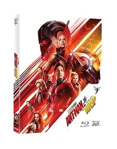 BLU-RAY / ANT-MAN AND THE WASP (2D+3D)
