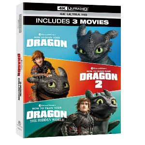 BLU-RAY / HOW TO TRAIN YOUR DRAN TRILOGY (4K UHD ONLY)