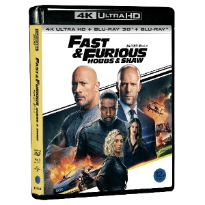 BLU-RAY / Fast & Furious Presents: Hobbs & Shaw LE (2D+3D+4K UHD)