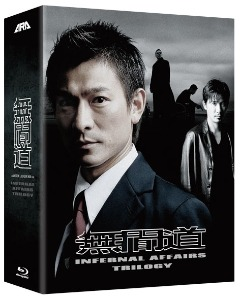 BLU-RAY / Infernal Affairs Trilogy Box-set