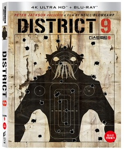 BLU-RAY /  District 9 (2Disc 4K UHD slip case first release limited edition)