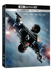 BLU-RAY / TENET(3Disc 4K UHD )(Initial Limited Slipcase + 64p Booklet)